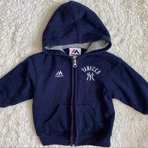 N.Y. Yankees zip up hoodie
